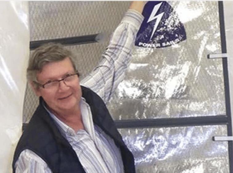 Alain janet solarcloth system pour la cci côte d'azur