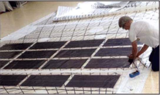 Voile solaire par solarcloth system