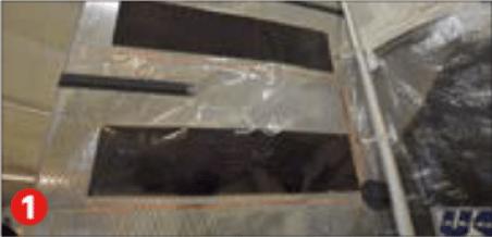 Le film photovoltaïque est intégré dans la voile en composite.