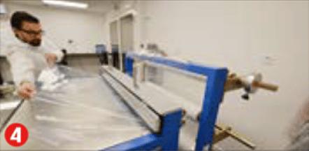 Fabrication et intégration de la membrane solaire